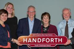 Handforth Station awarded for its work with young people