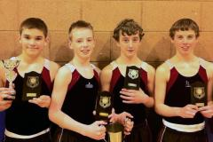 Wilmslow High trampolinists triumph in national final