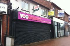 Plans to change former yoghurt shop into offices