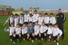 Wilmslow High footballers complete fantastic treble