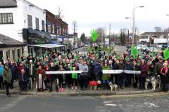 Residents protest against plans to build homes on green belt