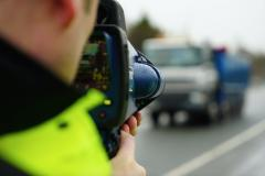 Motorist caught driving 63mph in 30 limit