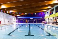 Create a splash for the 26th Wilmslow Swimathon