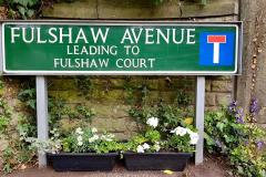 Volunteers spruce up Wilmslow street signs