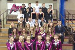 Jumping for joy: Trampolinists qualify for National Finals