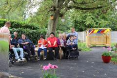Generous bequest brings garden haven for council's day-care residents