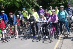 Cycling group marks 10th anniversary