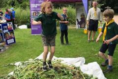 Scouts help bash Balsam