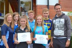Talented youngsters win help to achieve their sporting dreams