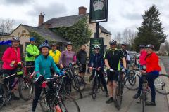 Parents take to the saddle for coast to coast ride
