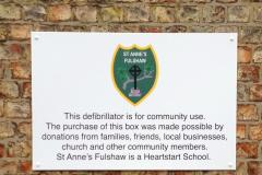 Shock as school's defibrillator stolen