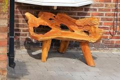 Heartless thieves steal memorial bench