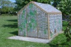 In Bloom team to build greenhouse out of plastic bottles