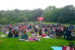 Outdoor cinema returns with double bill