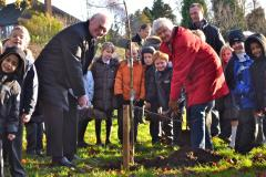 Ashdene pupils plant first trees in orchard