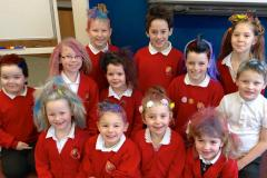 Kids let their hair down at end of term