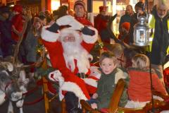 Crowds turn out for Christmas lights switch on