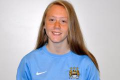 Olivia selected for Manchester City's under 15s squad