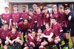 Football: Wilmslow High seniors secure treble