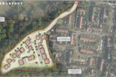 Plans for housing development on site of former care home