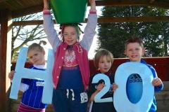 St Anne's pupils walk for water