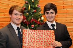 Wilmslow boy has Christmas all wrapped up