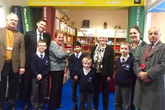 Wilmslow Grange opens new school library