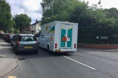 Temporary solution to Alderley Road parking problems