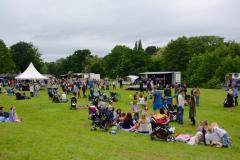 Wilmslow parties in the park