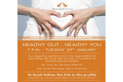 Healthy Gut. Healthy You. Healthy Knowledge - Free health seminar at beyondphysio