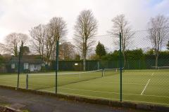 Tennis club's floodlight plans approved