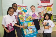 Early kick-off for the 'Mischief Makers' reading challenge