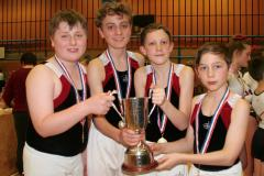 Trampolinists are flying high after national success