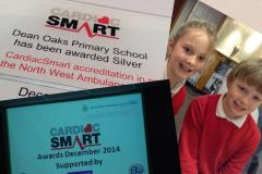 Dean Oaks Primary becomes a CardiacSmart school