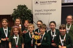 St Anne's compete in lego finals