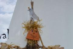 Winner of the school's scarecrow competition announced
