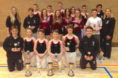 Trampolinists triumph at national finals