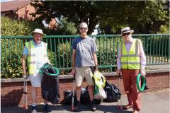 Help clean up Wilmslow for In Bloom judging
