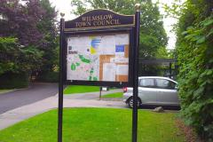 New noticeboards to keep residents informed