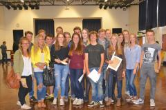Wilmslow High students celebrate A-level success