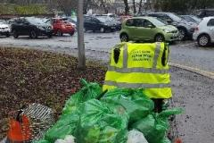 Volunteers kick off new year with successful litter picks