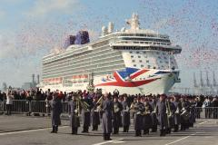 Cheshire Personal Travel Agent takes to the high seas to review Britain's largest cruise ship