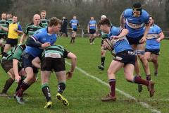 Rugby: Determined Wolves suffer defeat a Lymm