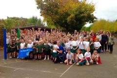 Updated: Whole school hits the pavement raising over £2000 for charity