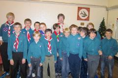 Scouts in search of new leader