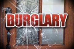 Burglars remove pane of glass to gain entry