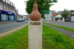 New sculpture unveiled in town centre