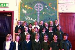 Pupils create mosaic with famous artist