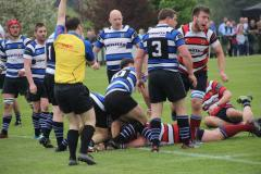 Rugby: Wolves secure promotion in nail-biting playoff