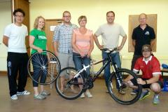 CycleWilmslow help cyclists fix their bikes